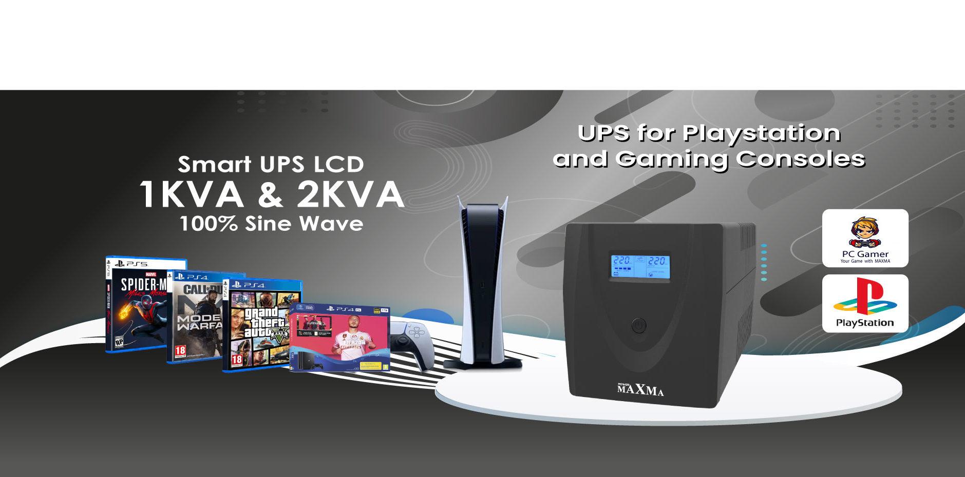 Maxma Gaming UPS